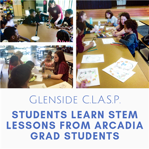 Students in Glenside Elementary's CLASP program